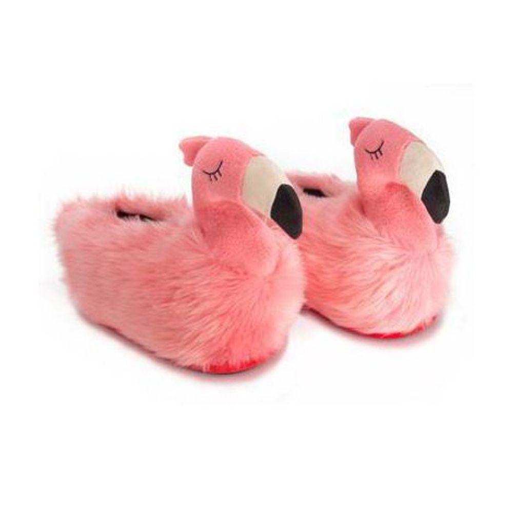 d5d3067d12a985 Pantufa 3D Flamingo - Tamanho 34/36 - spezziale